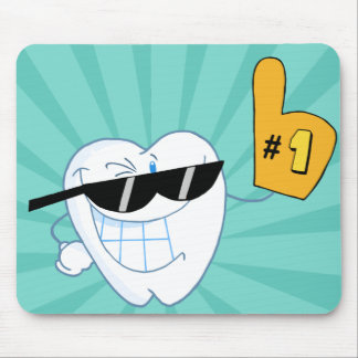 Number One Dentist Mousepad