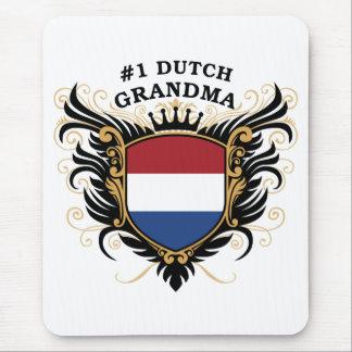 Number One Dutch Grandma Mouse Pad