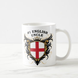 Number One English Uncle Coffee Mug