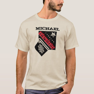 Number One EXTERMINATOR with Grunge Stars A06 T-Shirt