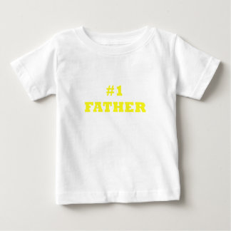 Number One Father Baby T-Shirt