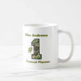 Number One Financial Planner V21 Classic White Coffee Mug