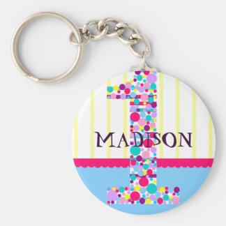 Number  One, First Birthday Celebration Magnet Basic Round Button Keychain