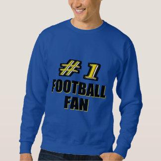 Number One Football Fan Sweatshirt