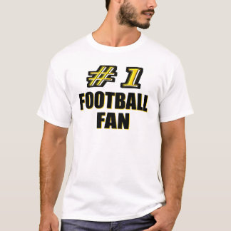 Number One Football Fan T-Shirt