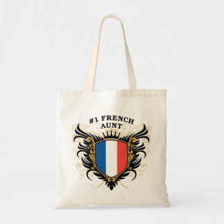 Number One French Aunt Tote Bag