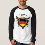 Number One German Dad T-shirts