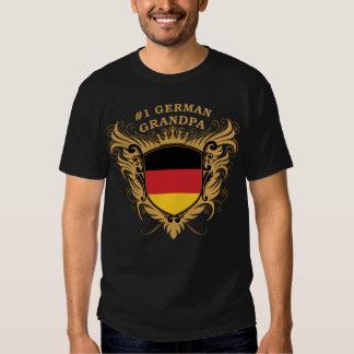 Number One German Grandpa Shirt