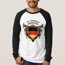 Number One German Grandpa T-Shirt