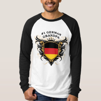 Number One German Grandpa T-Shirt