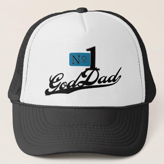 Number One GodDad Trucker Hat