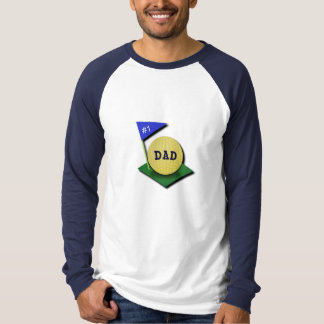 Number One Golf Dad T-Shirt