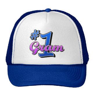 Number One Gram Trucker Hat