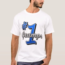 Men's Basic T-Shirt with Number One Gramps design