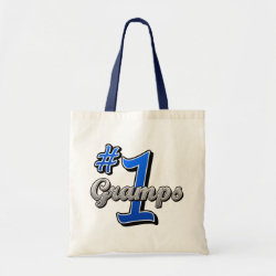 Budget Tote with Number One Gramps design