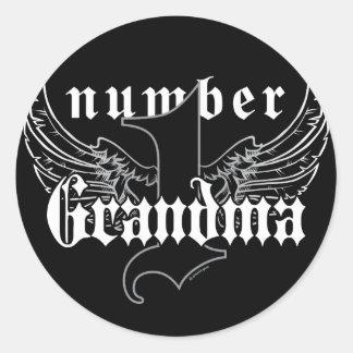 Number One Grandma Sticker II