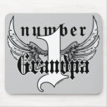 Number One Grandpa Mousepad