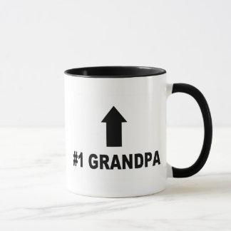 Number One Grandpa Mug