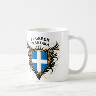 Number One Greek Grandma Coffee Mug