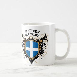 Number One Greek Grandma Coffee Mug