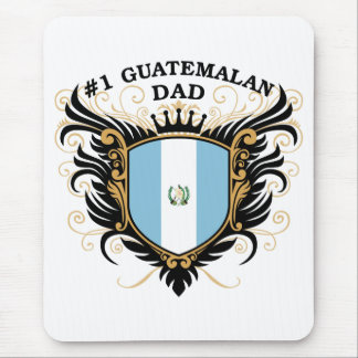 Number One Guatemalan Dad Mouse Pad