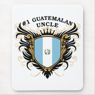 Number One Guatemalan Uncle Mouse Pad