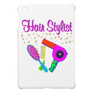 NUMBER ONE HAIR STYLIST AND BEAUTICIAN iPad MINI CASES