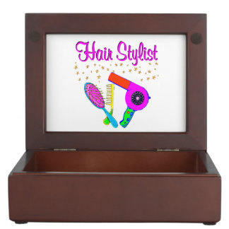 NUMBER ONE HAIR STYLIST AND BEAUTICIAN MEMORY BOX