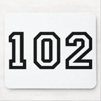 Number One Hundred and Two Mouse Pad