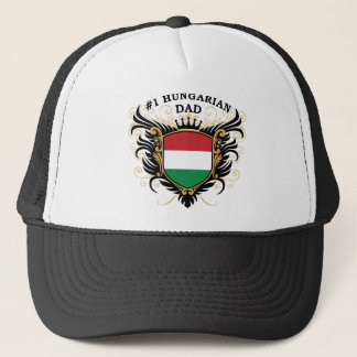 """""""Number One Hungarian Dad"""" Trucker Hat"""