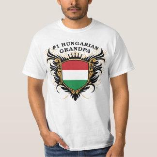 Number One Hungarian Grandpa T-Shirt