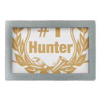 Number One Hunter - #1 Belt Buckle