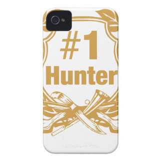 Number One Hunter - #1 Case-Mate iPhone 4 Case