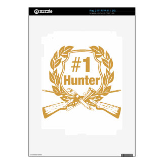 Number One Hunter - #1 Decals For The iPad 2