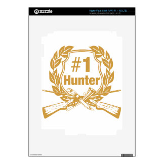 Number One Hunter - #1 iPad 3 Decal