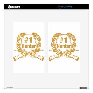 Number One Hunter - #1 Kindle Fire Skin