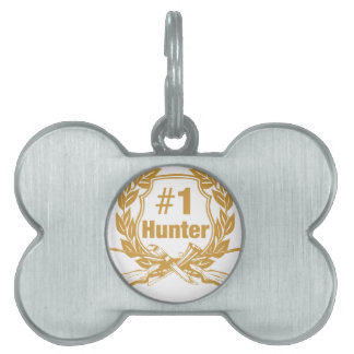 Number One Hunter - #1 Pet ID Tag