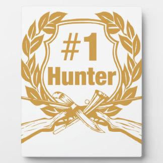 Number One Hunter - #1 Plaque