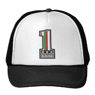 Number One In Burundi Hat
