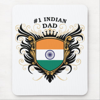 Number One Indian Dad Mouse Pad