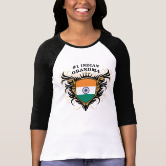 Number One Indian Grandma T Shirt
