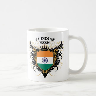 Number One Indian Mom Coffee Mugs
