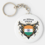 Number One Indian Uncle Keychains