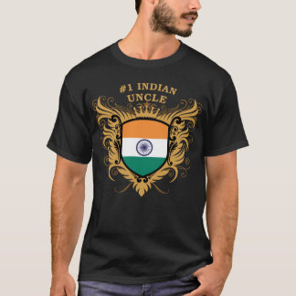 Number One Indian Uncle T-Shirt