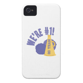 Number One iPhone 4 Case-Mate Cases