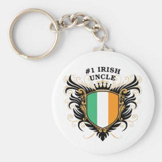 Number One Irish Uncle Keychain