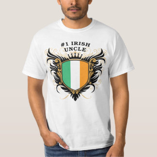 Number One Irish Uncle T-Shirt