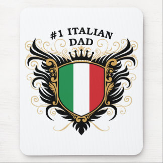 Number One Italian Dad Mouse Pad