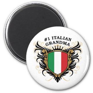 Number One Italian Grandma Magnet