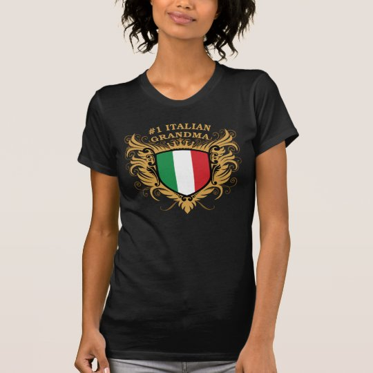 Number One Italian Grandma T-Shirt